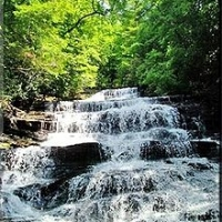 Minnehaha Falls - best waterfall in Rabun County