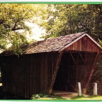 Stovall Mill Covered Bridge - Sautee GA