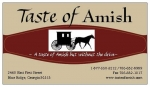 Taste of Amish - Visit our Online Store