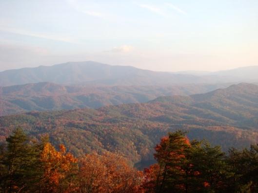 Chilhowee Mountain Overlook - Benton, TN