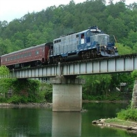 Hiwassee River-Rail Adventure Copperhill, TN, and McCaysville, GA