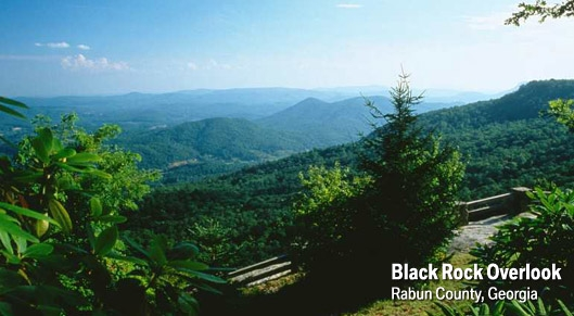 Black Rock Mountain State Park  Mountain City GA  Southern