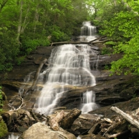 Big Laurel Falls - Nantahala National Forest, Highlands NC